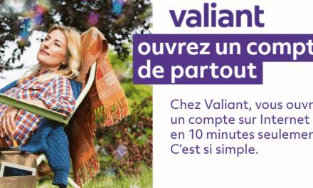 Valiant propose l'ouverture de compte entièrement en ligne