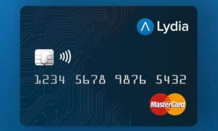 Lydia lance une carte connectée