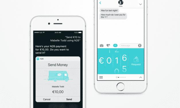 N26 profite d'iOS10 pour s'intégrer à Siri et iMessage